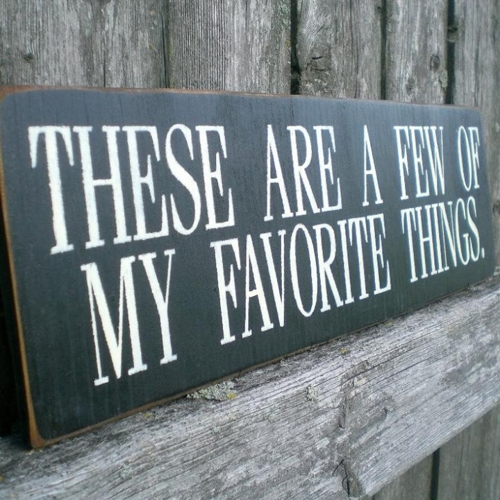 My Favorite Things – JanuaryEdition